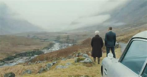 james bond film locations james bond where was the scottish skyfall scene filmed