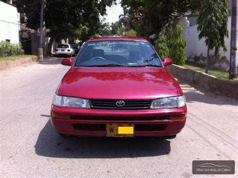 1994 Toyota Corolla For Sale Used Toyota Corolla Xe 1994 Car For Sale In Karachi