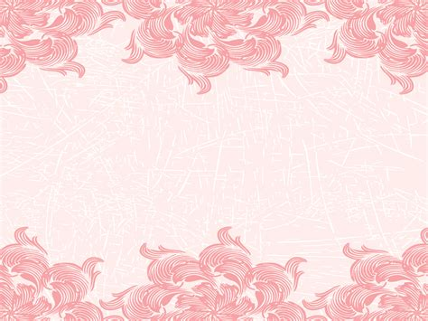 gold and pink flower cards template pink cistern powerpoint templates border frames
