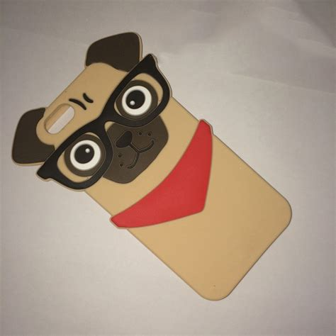Iphone 7 3d Fashion Model Phone Cover T1910 2 aliexpress buy fashion 3d pug protective silicone shell cover for iphone 7 7plus 5