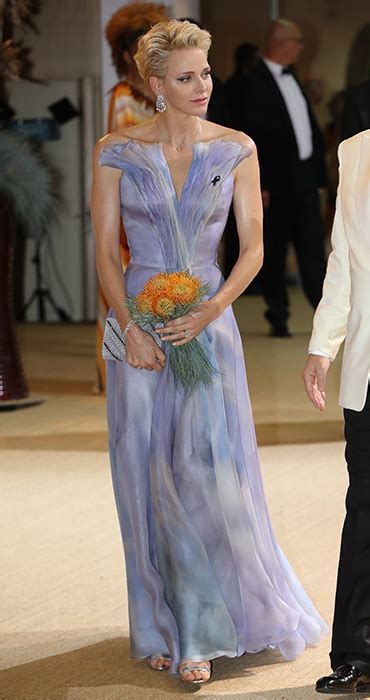 hochzeitskleid charlene von monaco princess charlene is the belle of the ball at red cross gala