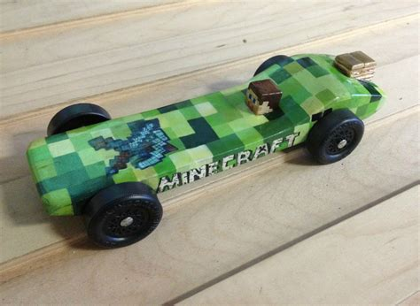 i see your stevie minecraft car and submit this one for