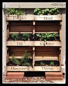 Vertical Garden Made From Pallets 25 Best Ideas About Herb Garden Pallet On