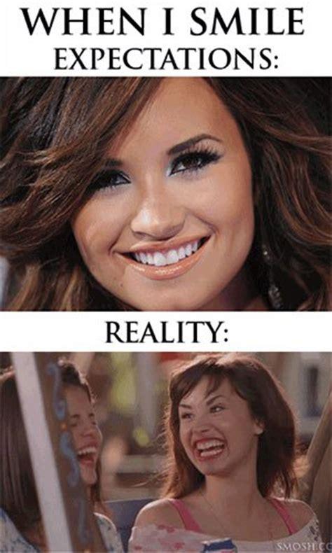 Weird Smile Meme - demi lovato memes funny meme about singer demi lovato pictures