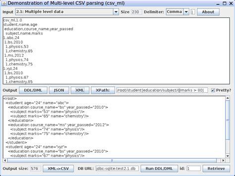 format csv to xml csv tdv tsv to json xml converter nested csv to xml csv