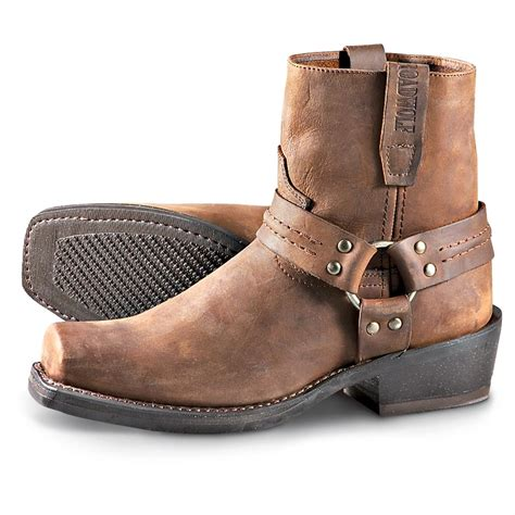 harness biker boots men s road wolf harness boots gaucho 173830