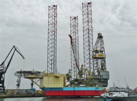 maersk to schedule maersk resolve drilling ship details and current