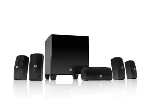 jbl 5 1 home theater system with powered sub