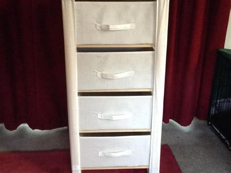 Fabric Chest Of Drawers by Fabric And Wood Chest Of Drawers In Freshwater Expired