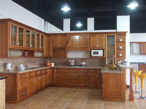 las  cocinas de madera mas calidas la madera es el