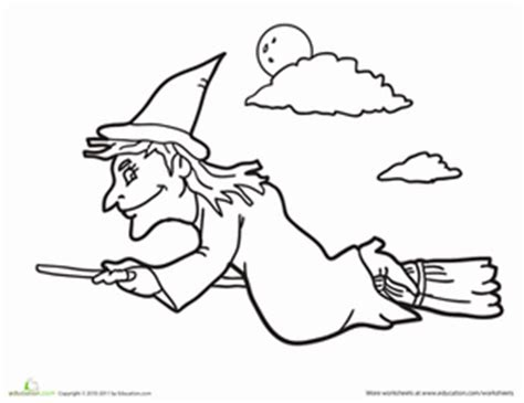 wicked witch coloring page wicked witch worksheet education com