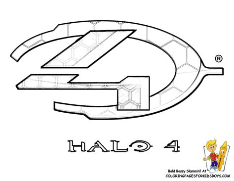 Halo 4 Coloring Pages by Heroic Halo 4 Coloring Pages Halo 4 Free Halo