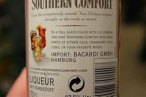 yet another witziges - Southern Comfort Mischen
