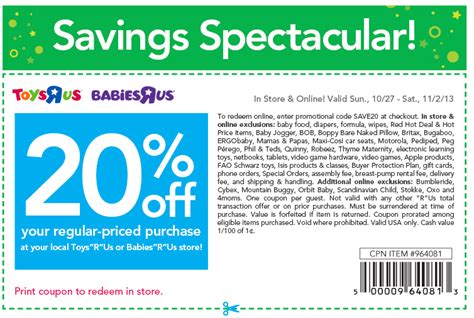 Discounts R Us by Toys R Us 20 Coupon Simplee Thrifty