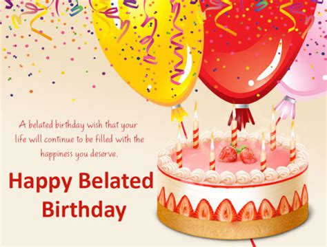 Belated Happy Birthday Wishes For A Friend Belated Birthday Wishes Archives Page 49 Nicewishes