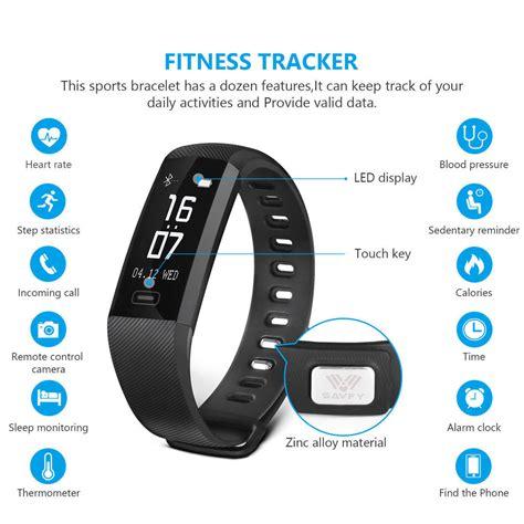 Sports Activity Tracker Heart Rate Fitness Pedometer Bracelet Smart Watch   eBay