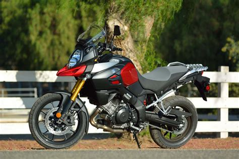 tall motorcycle 2014 suzuki v strom 1000 abs md long term ride review