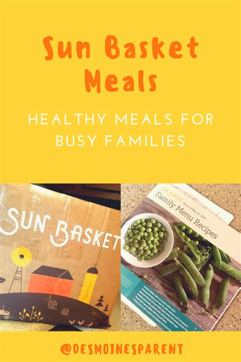 The Vegetarian Lunchbasket Helps To Keep Meals Healthy And by Sun Basket Meals Healthy Meals For Busy Families Des