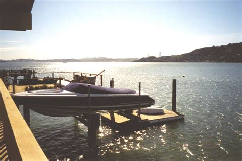 floating boat lift used floating boat lifts by williamson boat lift the rolls
