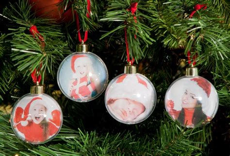 create your own photo baubles 4 pack gettingpersonal co uk