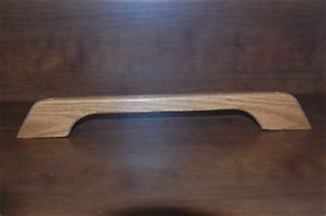 wood pattern grab bar assist door handle entry wood rv cer travel trailer