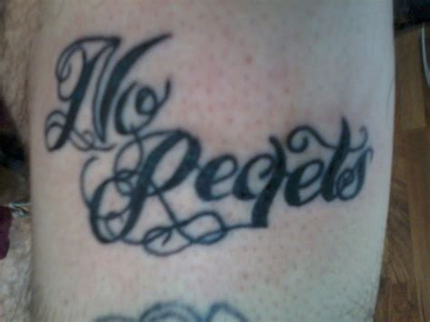 no regrets tattoo no regrets tattoos designs ideas and meaning tattoos