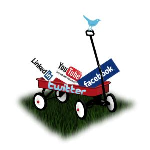 Kaos Social Media Wagon focus financial social media services 763 494 6696