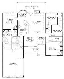 4 bedroom split floor plan my future home pinterest