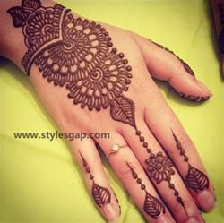 simple easy eid mehndi designs 2017 2018 latest collection