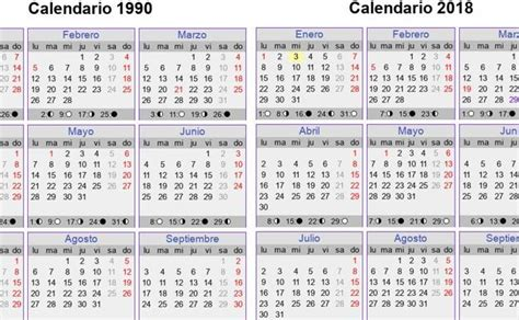 calendario 2016 que indique semanas la curiosidad del calendario de 2018 revoluciona las