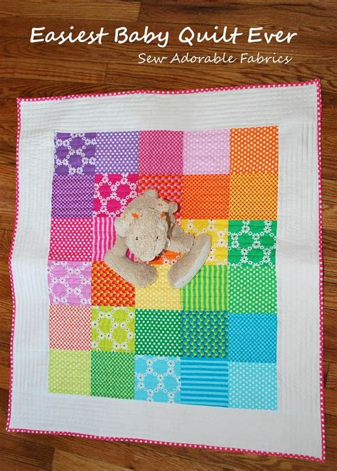 quilting baby tutorial easy baby quilt pattern for beginners giveaway for the