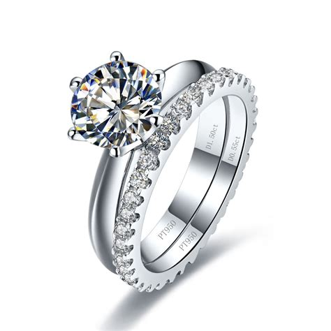 wedding rings sterling silver ring settings without