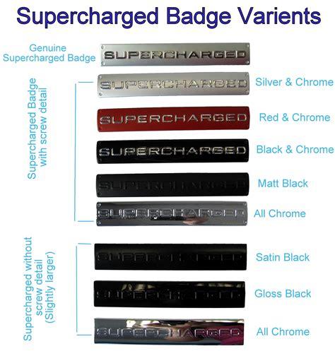 black chrome range rover black chrome supercharged badge for range rover sport