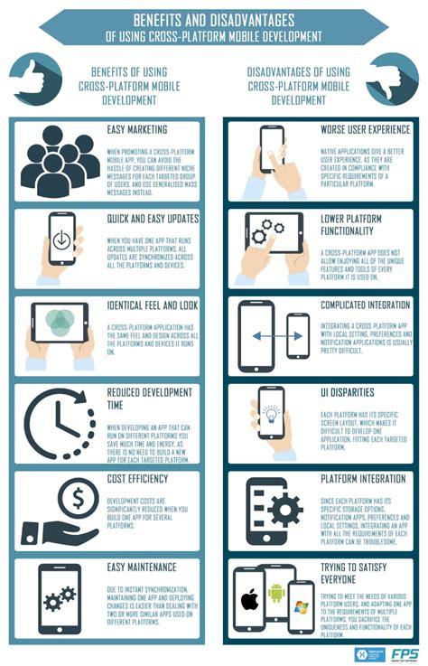 mobile cross platform advantages and disadvantages of using cross platform