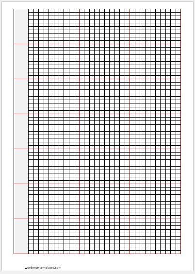 excel graph paper 6 printable graph paper 1 4 inch lvn