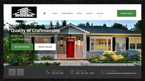 redesign of gruber home improvement open skies design