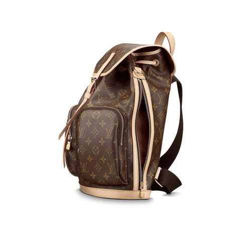 Louis Vuittonn Backpack new louis vuitton bosphore backpack in striking monogram