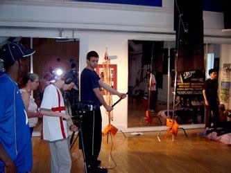 swing film crew video production students photos