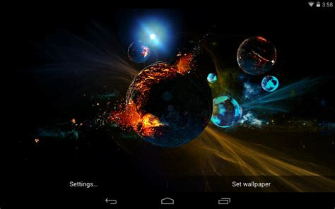 live wallpapers best best space live wallpapers android live wallpaper