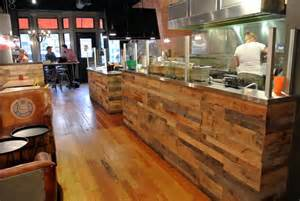 Kitchen Cabinets That Look Like Furniture Recycled Pallet Paneling Sustainable Lumber Company