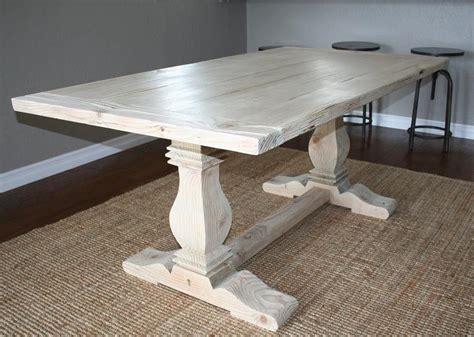 top fancy white and wood 17 classic trestle tables
