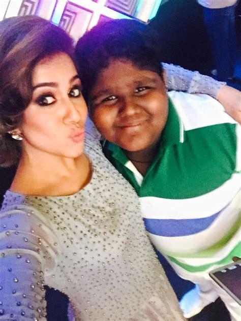 ranjini haridas meets indian idol junior fame vaishnav girish