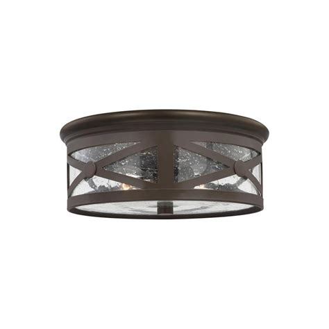 home depot outdoor flush mount lighting weather resistant led bronze outdoor flush mount