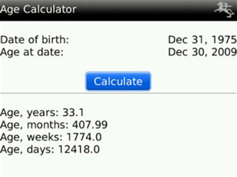 wedding date calculator based on date of birth apps personal assistant free blackberry apps