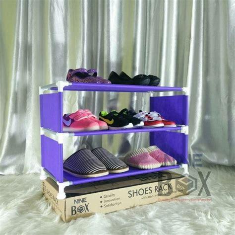 Ekslusif Rak Portable Nine Box Serbaguna Rak Sepatu Nine Box Nbx W4 B jual rak portable nine box serbaguna type w3 rak sepatu 3 susun tokogrosironline