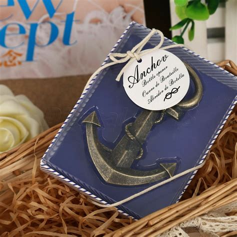 anchor nautical sea themed bottle opener bridal shower wedding favor gift ebay
