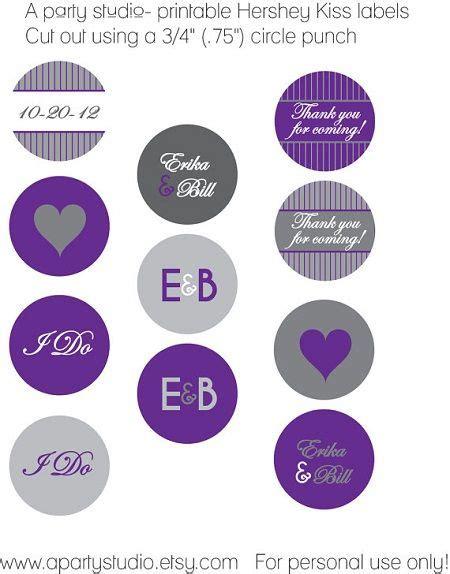 Hershey Kisses Stickers Template by Hershey Wedding Sticker Template Hershey