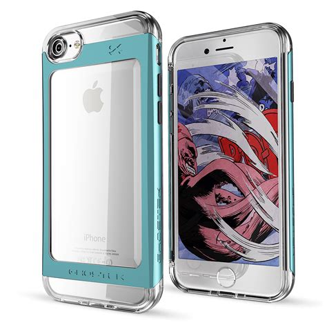 Monocozzi Lucid Shock Protection Apple Iphone 7 Plus Biru cases for iphone 7 7 plus samsung galaxy s8 note 5 lg g6