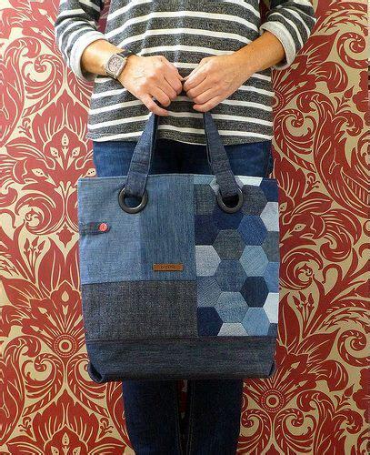Denim Patchwork Bag Patterns Free - best 25 jean bag ideas on diy bags from