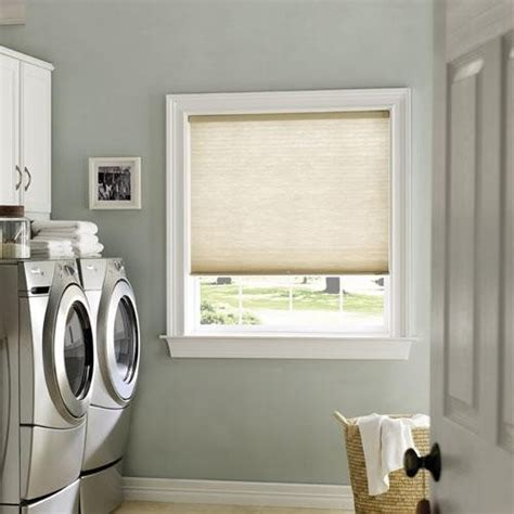 levolor accordia 7 16 quot designer cell from blinds traditional laundry room by
